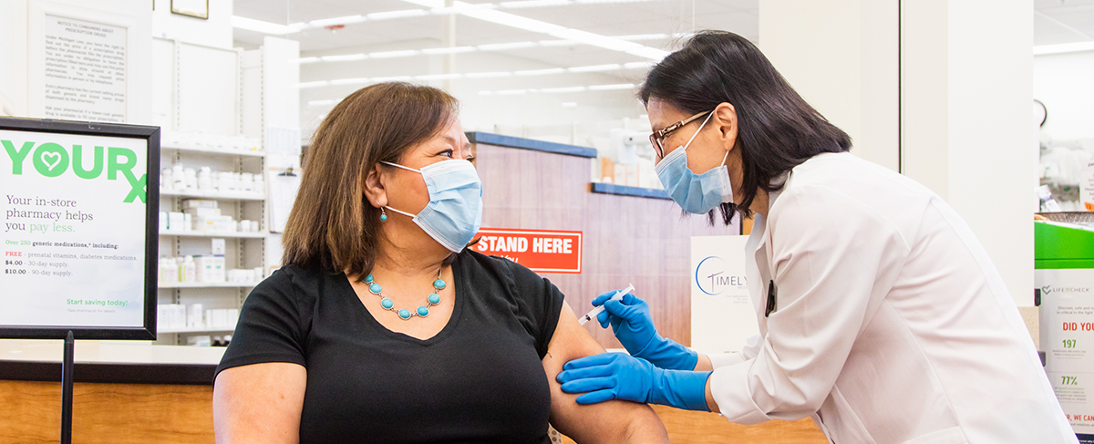Our experienced pharmacy team is trained and certified to administer vaccines.