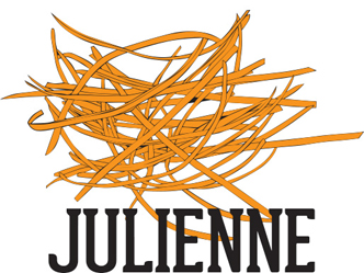 prepared julienned produce