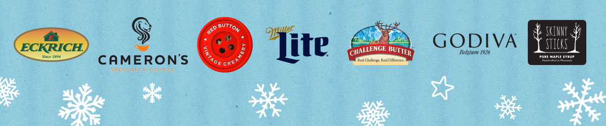 Brought to you by Eckrich, Cameron's Miller Lite, Challenge Butter, Godiva and Skinny Sticks.