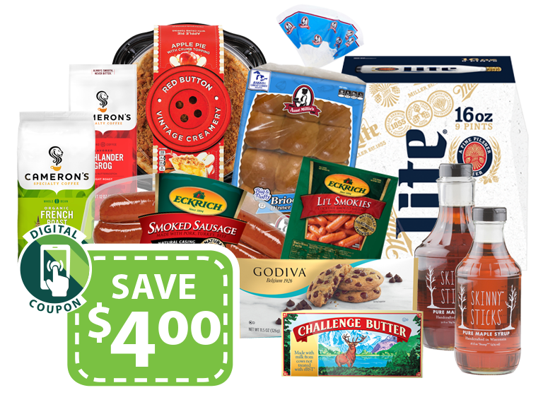 Save with digital coupons