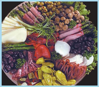 Antipasto Platter from Forest Hills Foods