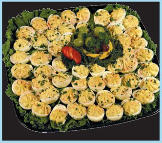 Deviled Eggs Party Tray from Forest Hills Foods
