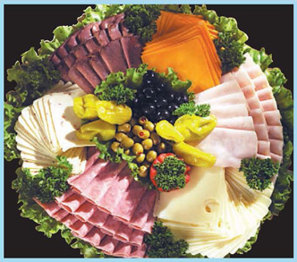 The Entertainer Party Platter from Forest Hills Foods