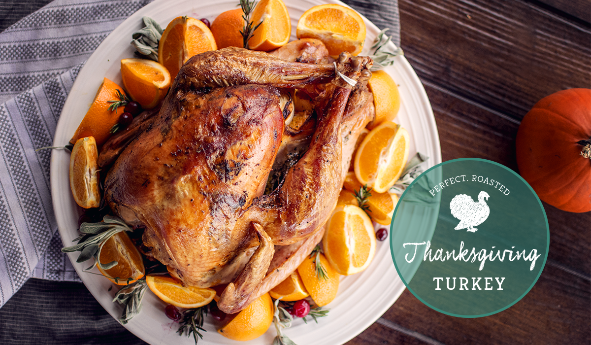 The perfect roasted Thanksgiving turkey