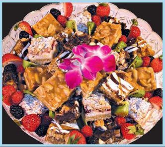 Sweet Indulgence Party Tray from Forest Hills Foods