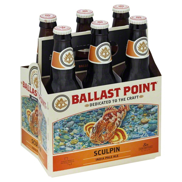 Ballast Point Sculpin IPA 6pk btl