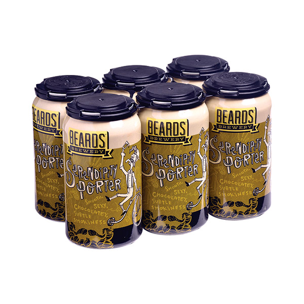 Beards Serendipity Porter 6pk can