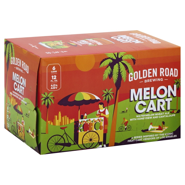 Golden Road Melon Cart 6pk can
