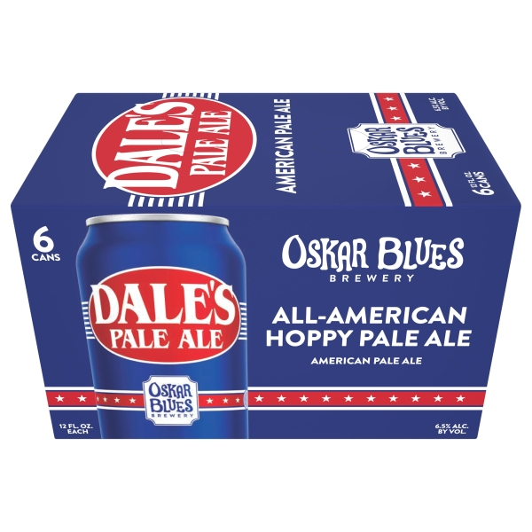 Oskar Blues Dales Pale Ale 6pk can By The Case!