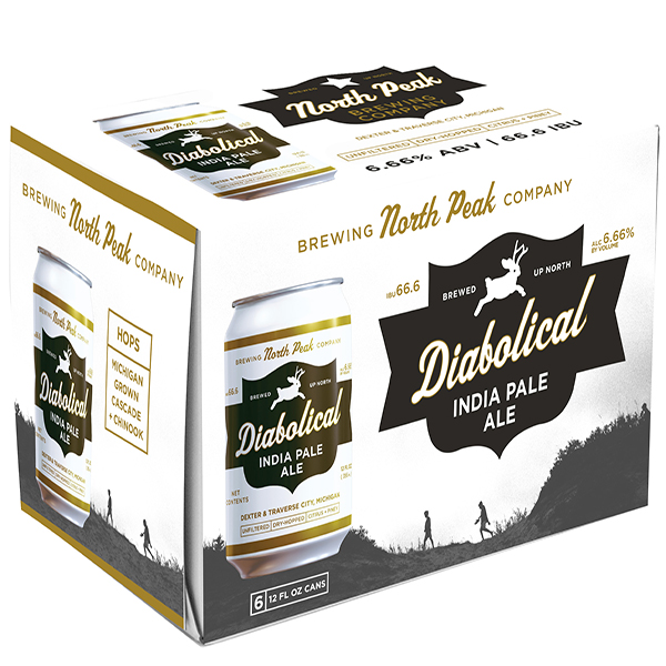 North Peak Diabolical 6pk can By The Case!